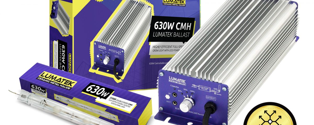 Lumatek 630W de CMH Kit Controllable Cover