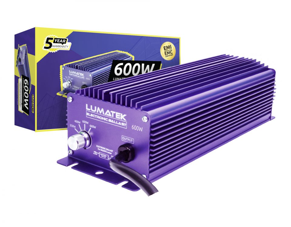 Lumatek 600W 240V ballast