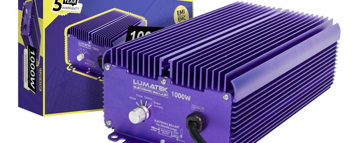 Lumatek digital ballast 1000W 240V