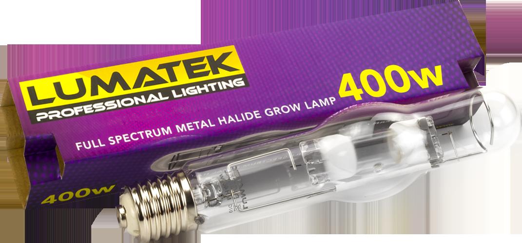 Lumatek MH Lamp 400W 240V