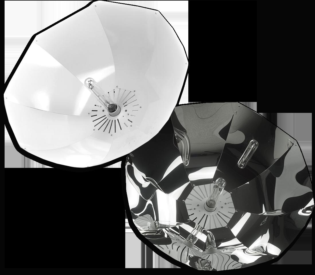 Shinobi Parabolic - Lumatek Reflector