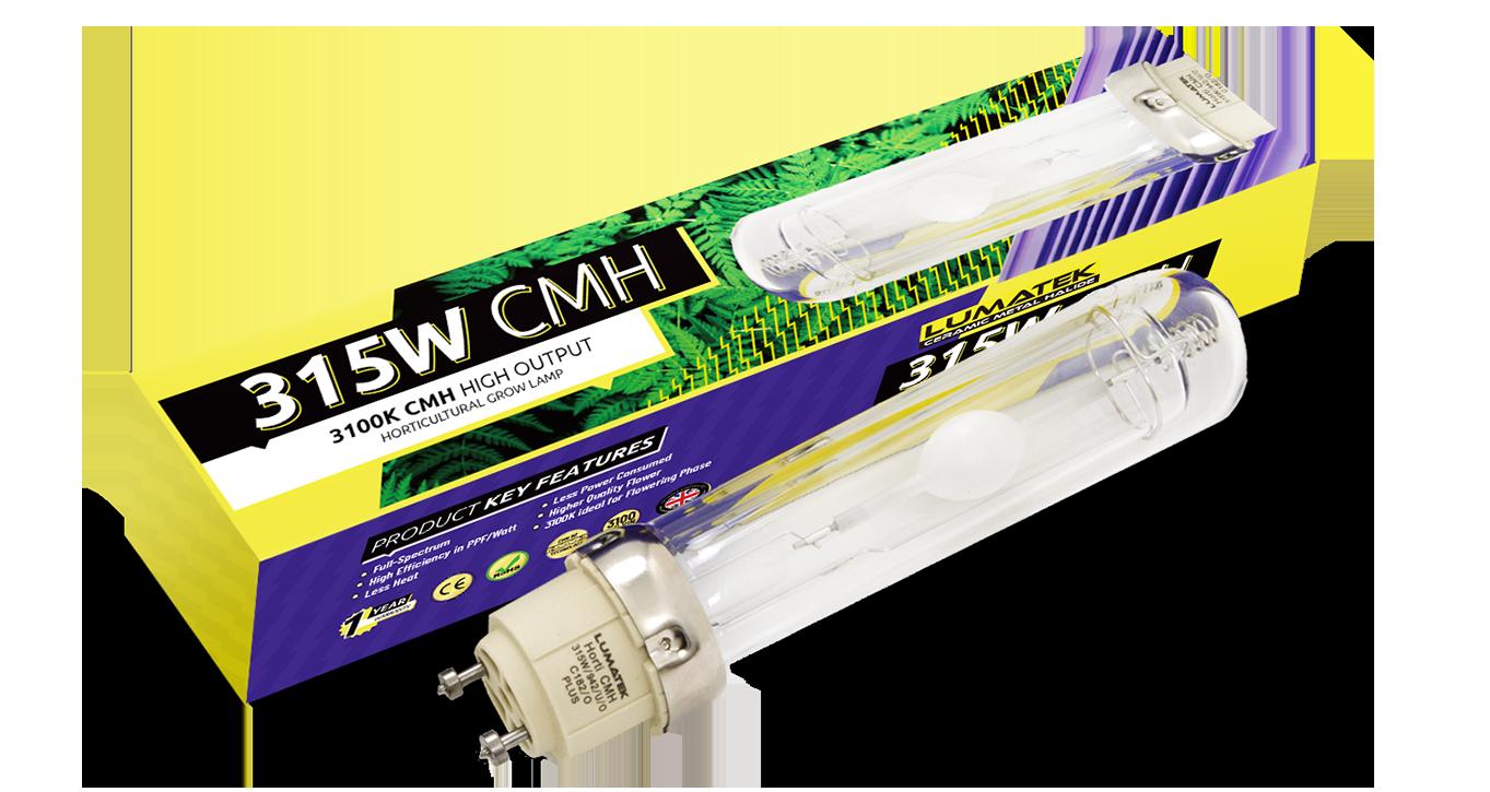 Lumatek Cmh Lamp 315w 240v Lamps