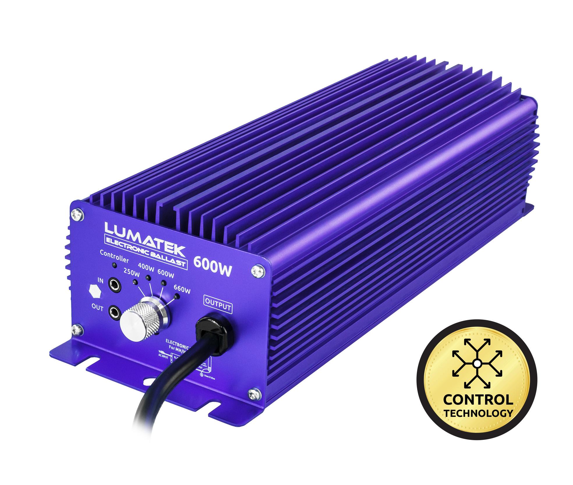 Lumatek Controllable Ballast 600w 240v Electronic Ballast