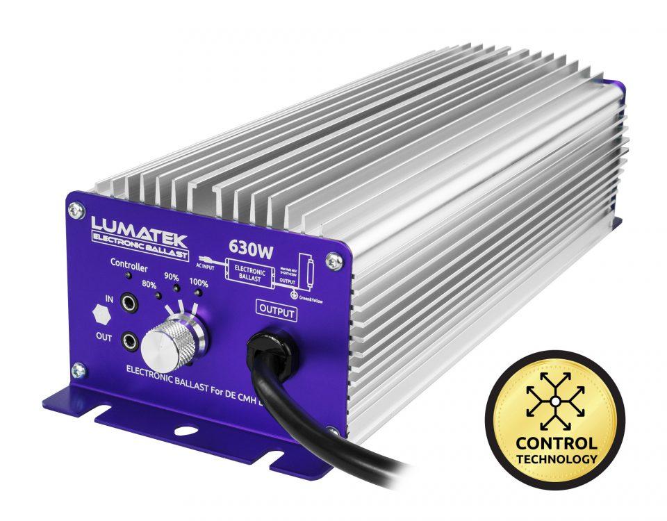 Balastro controlable 630W CMH Lumatek
