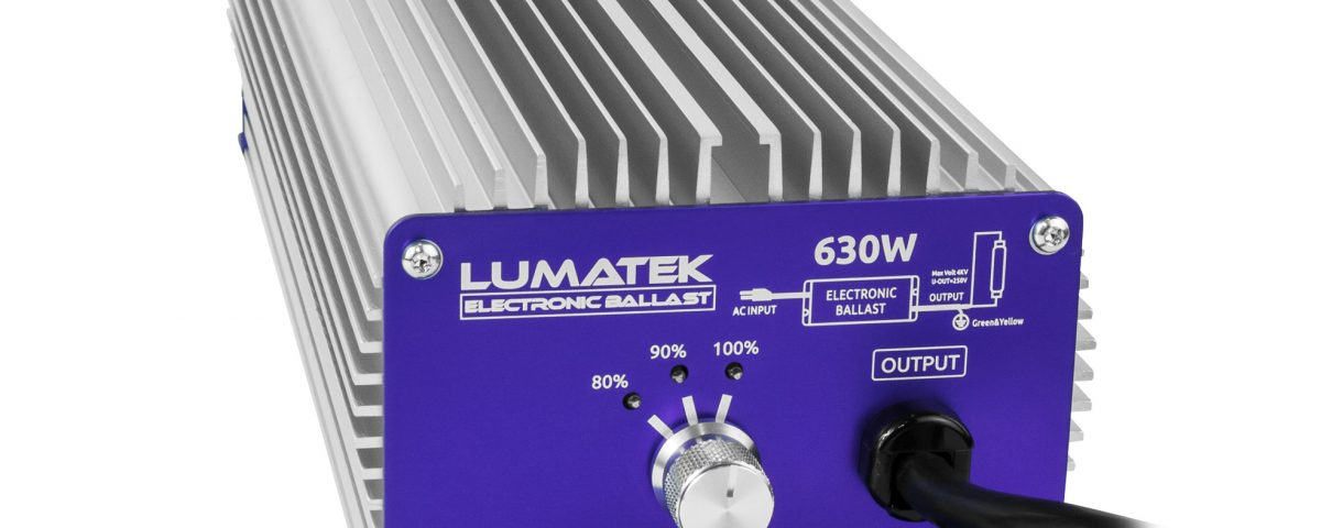 Balasto controlable 630W CMH Lumatek