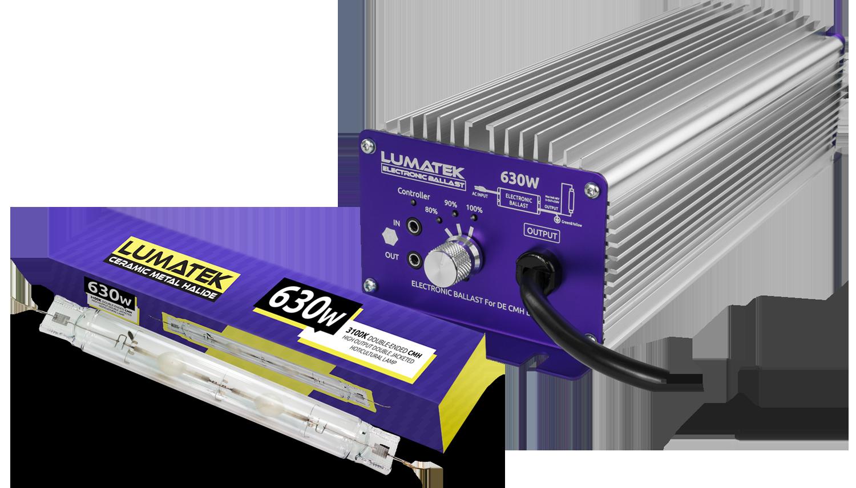630W DE CMH Kit Controllable - Kits and Full Kits Lumatek