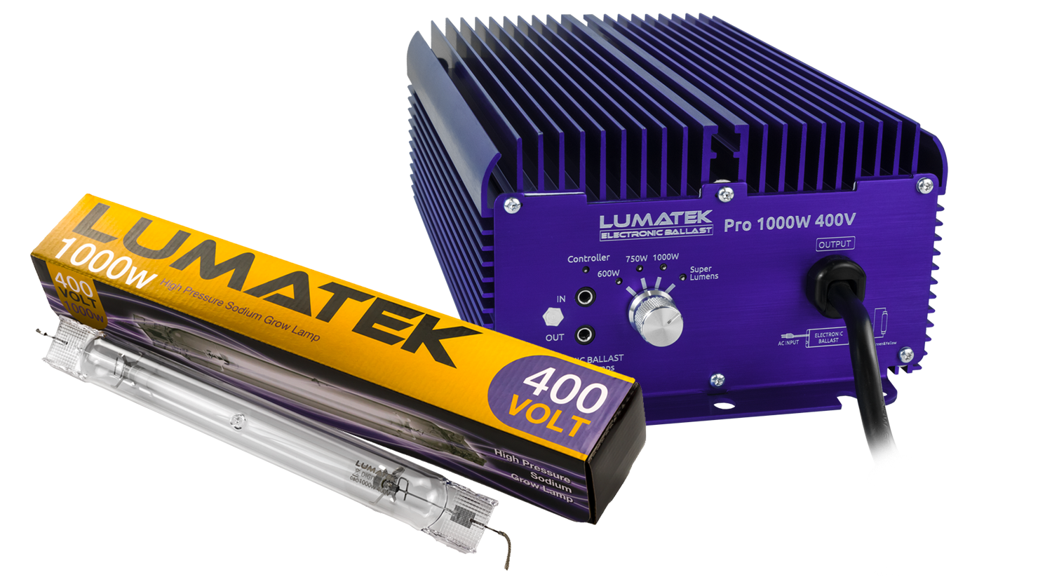 Pro 1000W DE KIT - Lumatek Best Grow Lighting Solutions